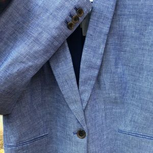 JCrew NWT Stretch Linen Fully-Lined Suit